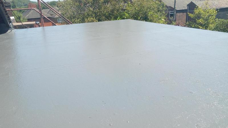 Image 8 - Recent flat roof replacement, this is after