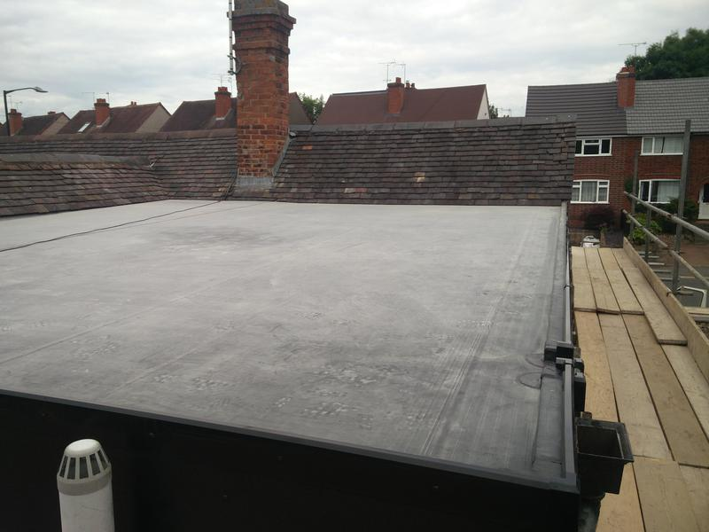Image 87 - Large first floor flat Rubber Roof Covering, upgraded to 1.5mm. Completed July 2019, Kenilworth