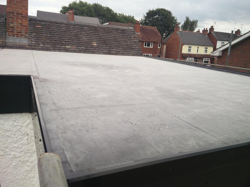 Image 88 - Large first floor flat Rubber Roof Covering, upgraded to 1.5mm. Completed July 2019, Kenilworth