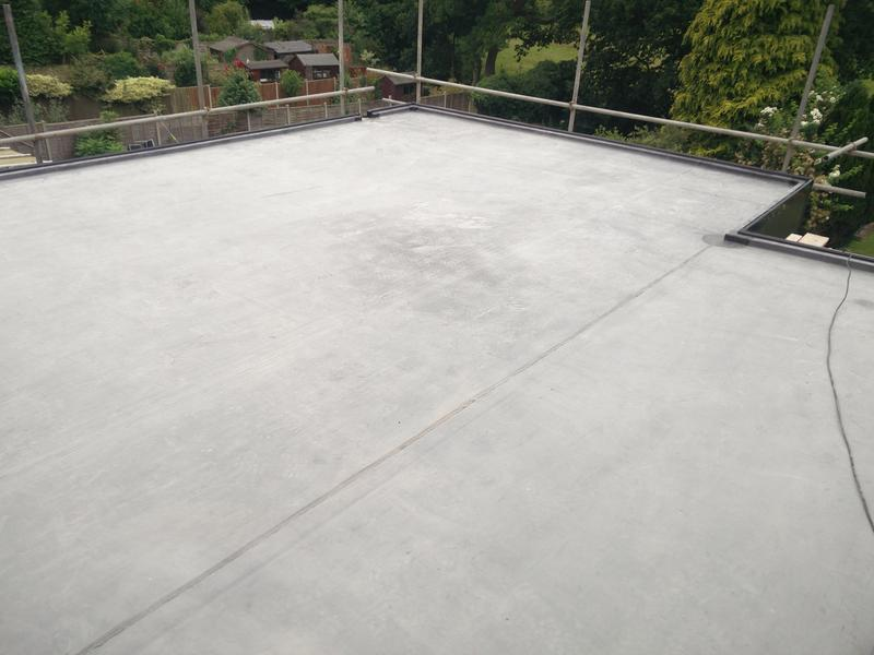 Image 89 - Large first floor flat Rubber Roof Covering, upgraded to 1.5mm. Completed July 2019, Kenilworth