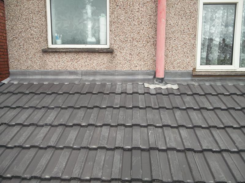 Image 76 - Kitchen Roof replacement, completed Aug 2019. Radford.