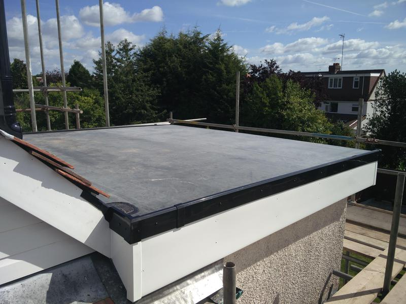 Image 68 - Lower Roof replacement in Rubber, completed Sept, Stylvechale.
