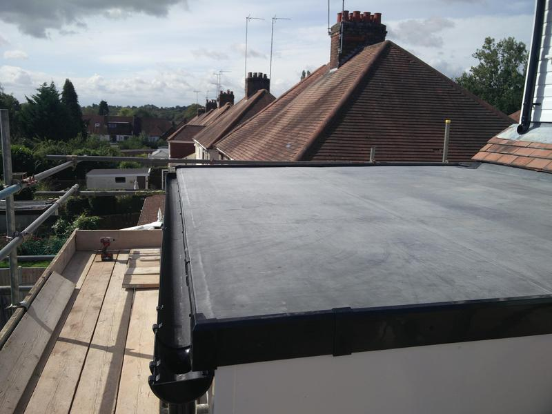 Image 69 - Lower Roof replacement in Rubber, completed Sept, Stylvechale.