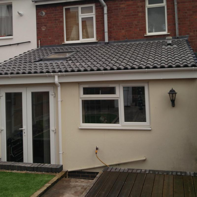 Image 67 - Extension Roof Replacement with Skylight, completed Sept, Keresley.