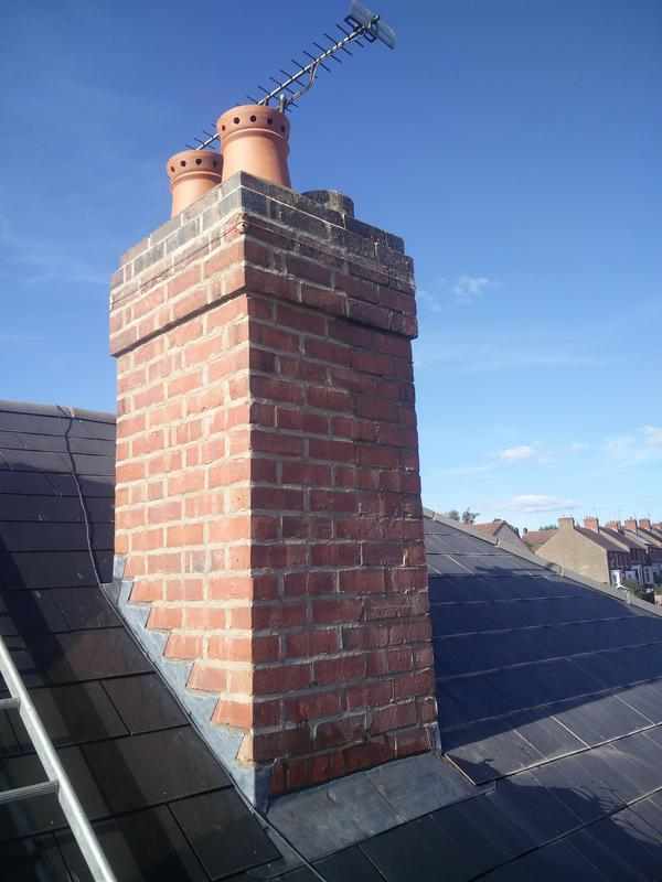 Image 65 - Chimney Works completed Sept, Coundon.