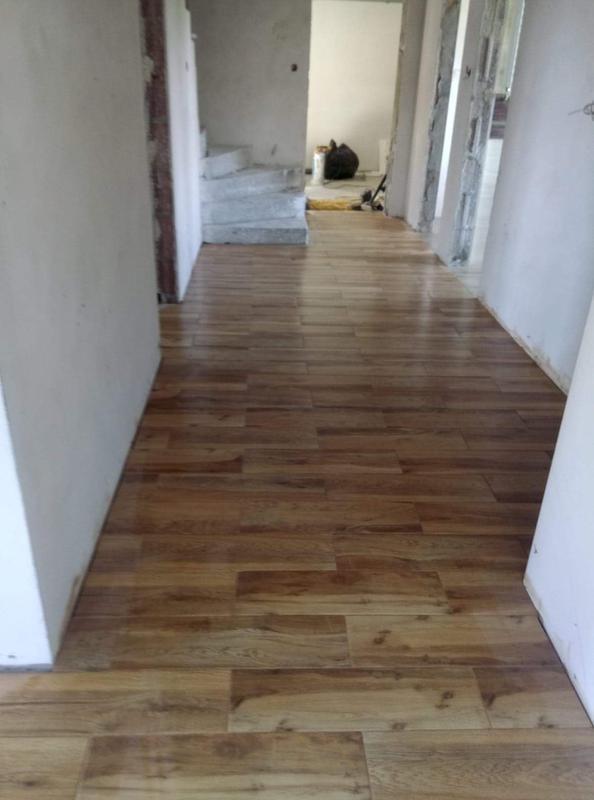 Image 39 - Floor tiling work