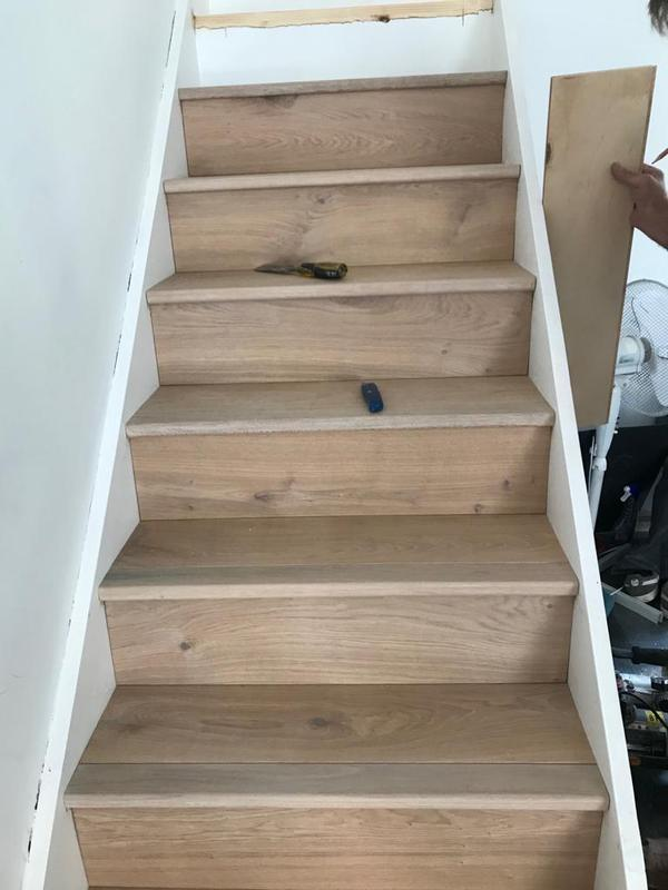 Image 42 - Stairs making good with new oak tmber