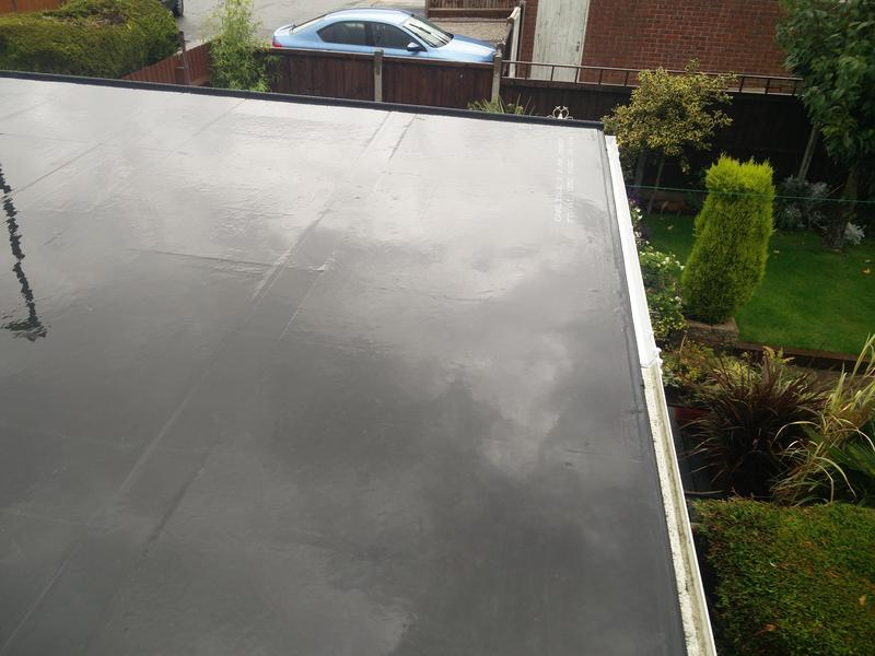 Image 61 - Garage Roof replacement in Rubber, completed Oct, Walsgrave.
