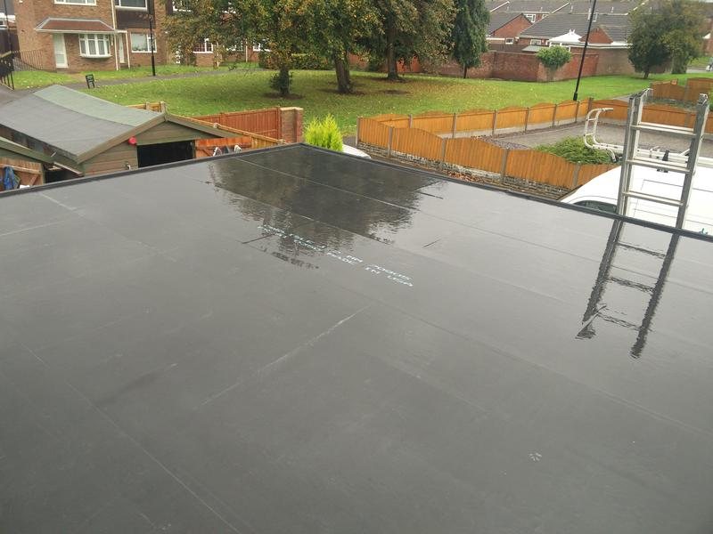 Image 62 - Garage Roof replacement in Rubber, completed Oct, Walsgrave.