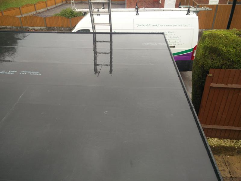 Image 63 - Garage Roof replacement in Rubber, completed Oct, Walsgrave.