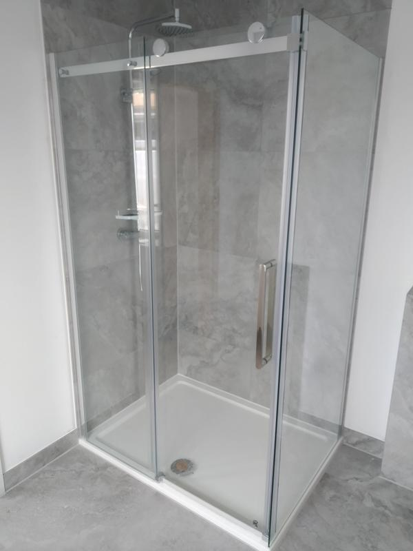 Image 7 - One of 5 bathrooms we completed on a renovation in Stansted