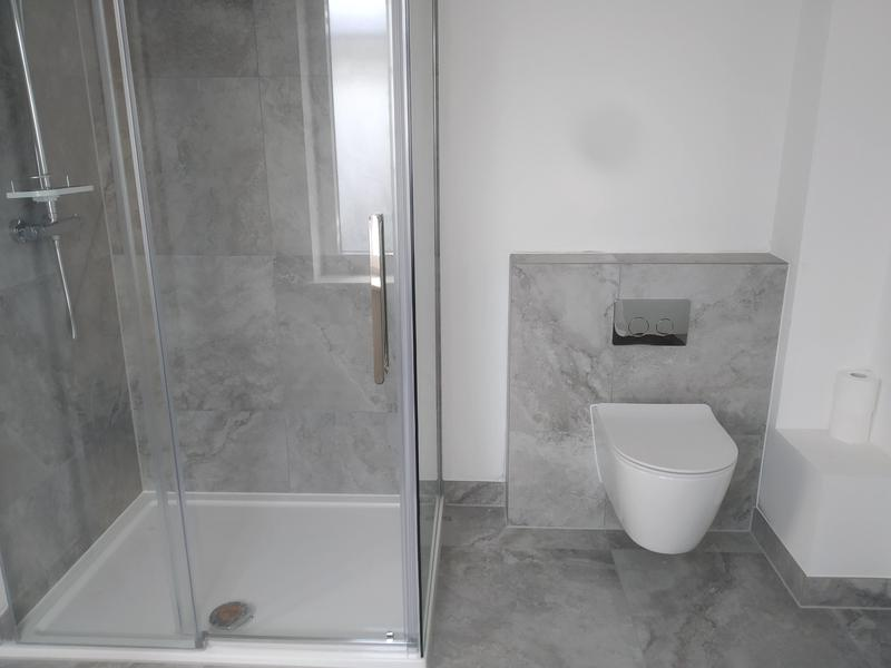 Image 8 - One of 5 bathrooms we completed on a renovation in Stansted