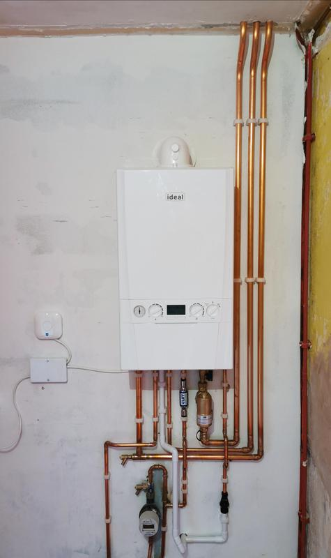 Image 5 - New Ideal Logic Max C35 installed, equipped with magnetic filter and inline scale inhibitor. 10 years parts and labour warranty. Nest learning thermostat also installed.