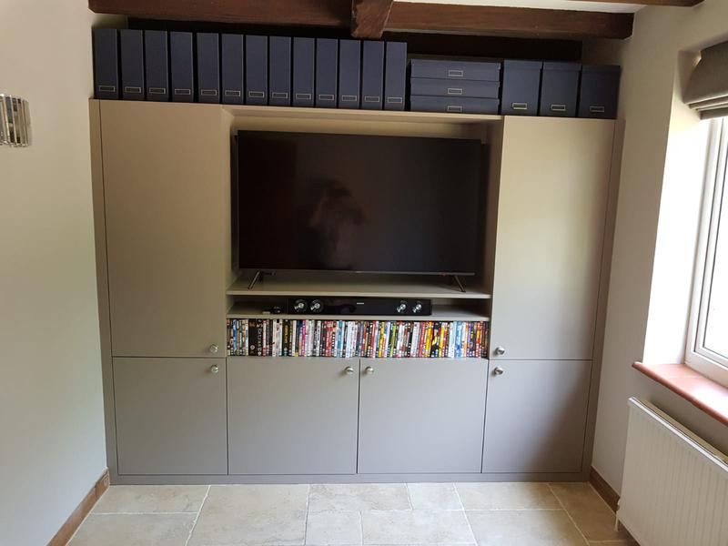 Image 6 - TV unit with storage cuboards