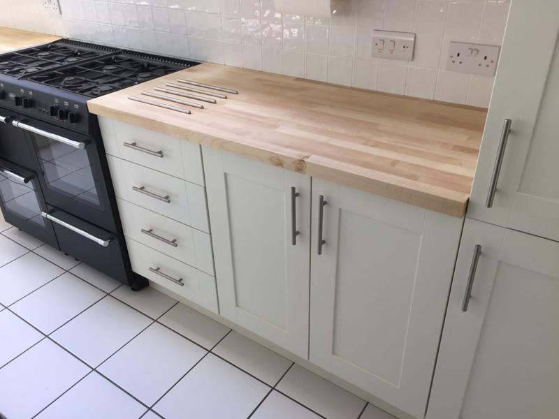 Image 4 - Solid wood worktop