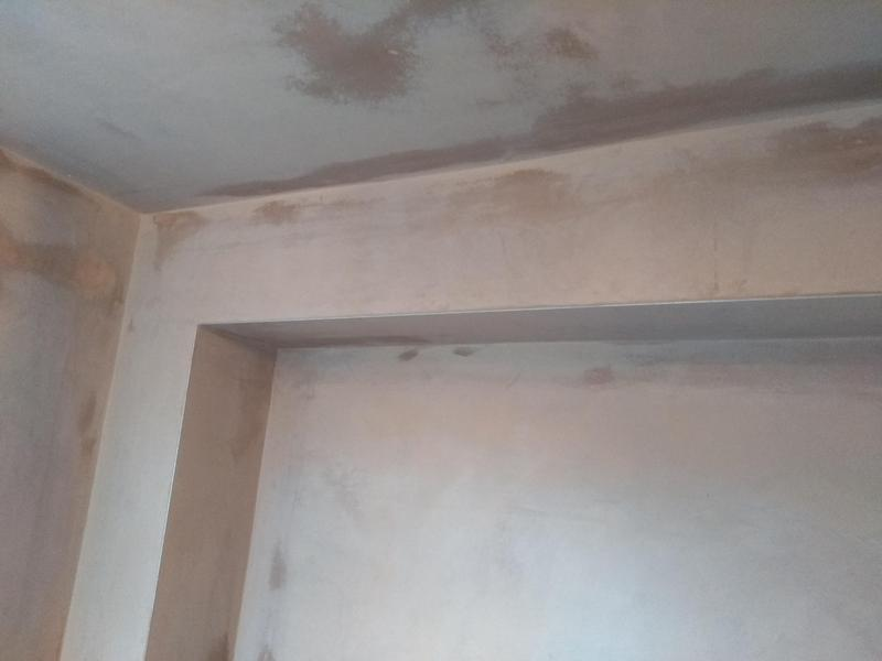Image 7 - Utility room. Pipes boxed in ceiling plasterboarded and plssterd.