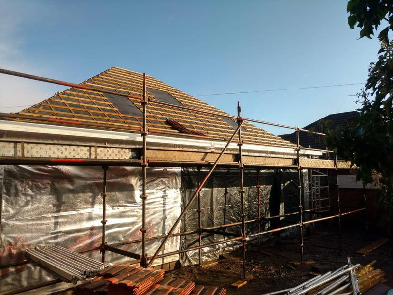 Image 9 - roof layout before tiling