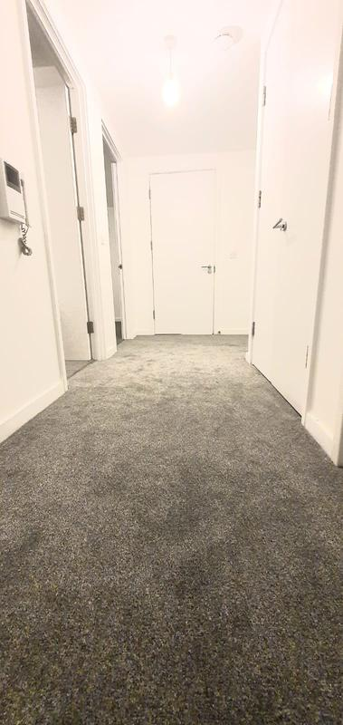 Image 25 - Jacob House - SE164EN Supply & fit new grey budget carpet at £8 per sqm with 10mm underlay this is the afte picture