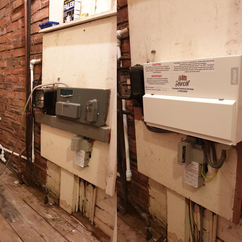 Image 6 - Recent consumer unit upgrade. The upgraded consumer unit is the the latest standard with build in surge protection.