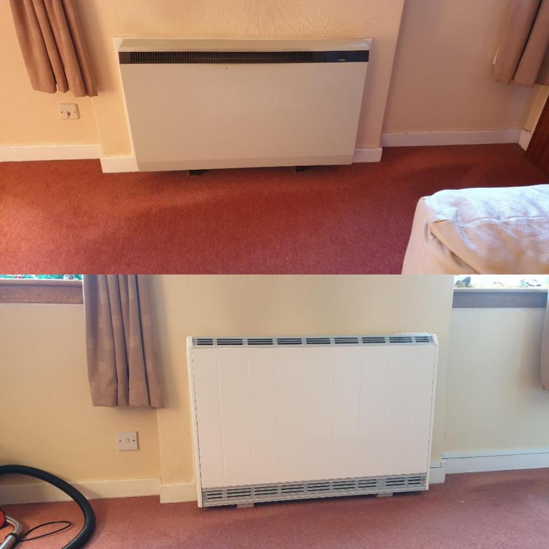Image 4 - Upgraded storage heater for a customer who's heating had given out just when they needed it most.