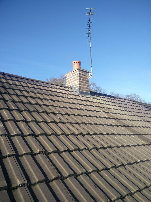 Image 16 - Main chimney repairs and re-pointing, Completed January, Tile Hill