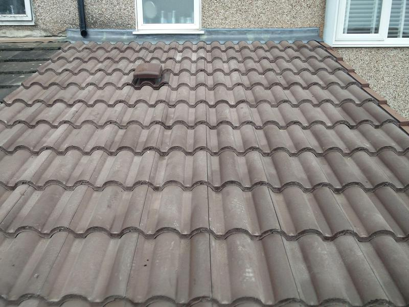 Image 13 - Rear Extension Roof Covering Replacement, Completed January, Coundon.