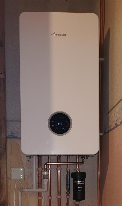 Image 1 - Worcester 2000 30kw combi boiler installed. Equipped with a Magna Clean and inline scale inhibitor. The boiler has 5 years parts and labour warranty. The heat exchanger has a 10 years warranty.