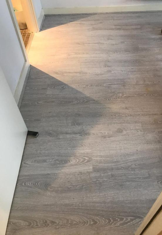 Image 3 - 2 bedrooms + 1 Living Room + Hallway, supply and fir very good quality laminate Quick step brand with an underlay and matching scotia. Job was completed in One Day only.