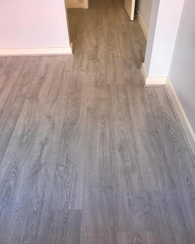 Image 11 - 2 bedrooms + 1 Living Room + Hallway, supply and fir very good quality laminate Quick step brand with an underlay and matching scotia. Job was completed in One Day only.