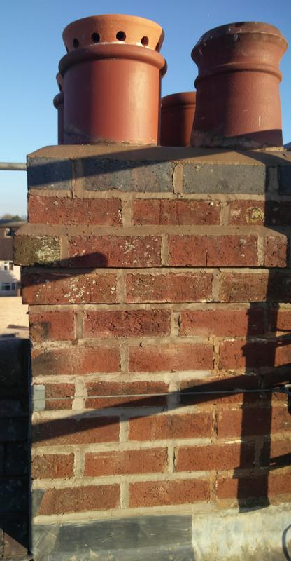 Image 7 - Chimney Joint Work, Re-point & New Chimney Pot Installation. Completed February, Wyken.