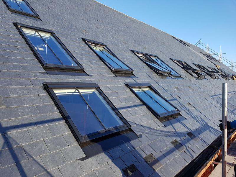 Image 9 - Re-roof on a block of flats