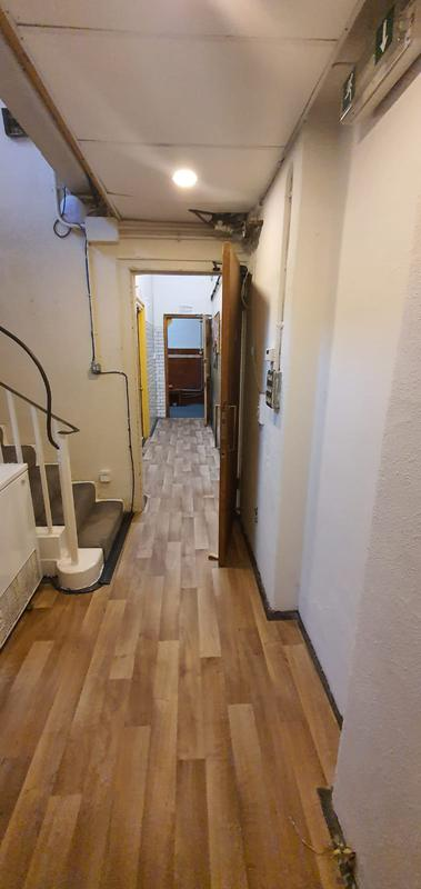 Image 7 - Jamyang Buddhist Centre. Supply & Fit contract vinyl for the hallway.