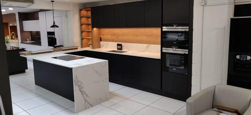 Image 28 - Install whole kitchens into people's homes and commercial properties and workplaces -we measure and assamble each kitchen unit,cut and fit worktops including cornice and plinth -Taking out old unit