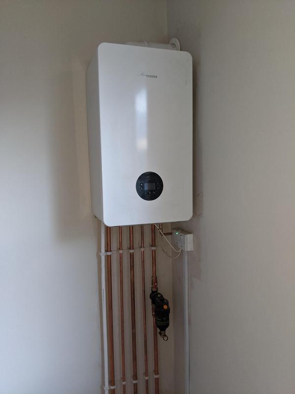 Image 18 - Henleaze boiler installation.