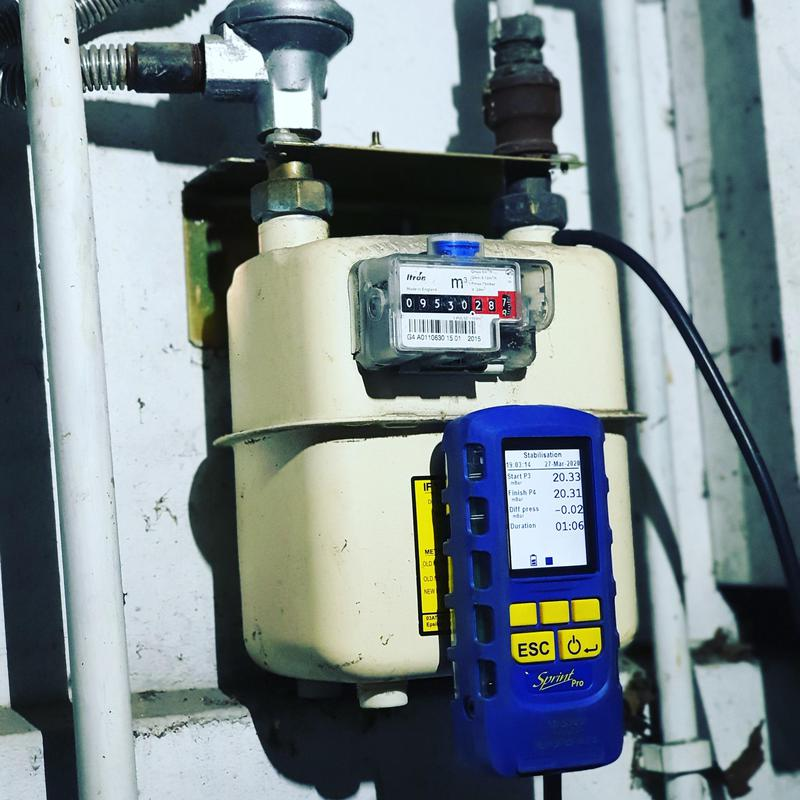 Image 100 - Domestic Gas Meter Install and Tersting