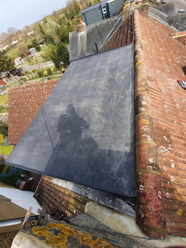 Image 7 - New rubber dormer flat roof covering.