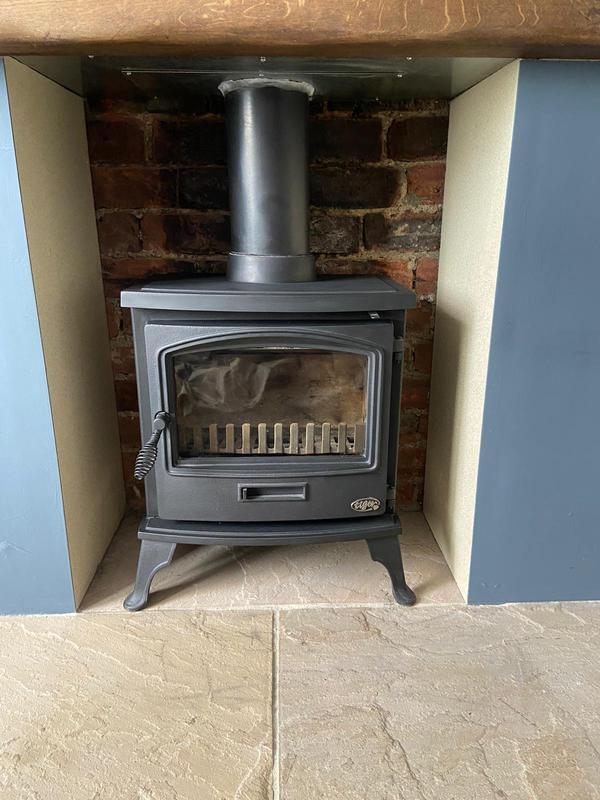 Image 2 - Tiger multi fuel clean burn stove