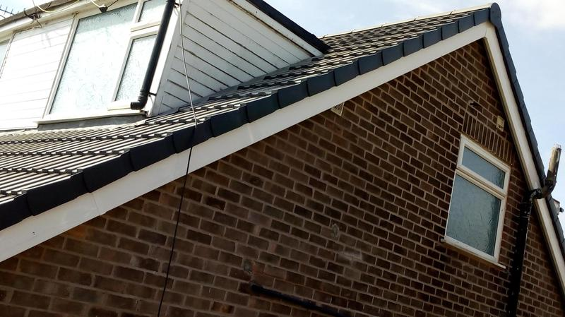 Image 3 - New maintenance free uPVC bargeboard and soffits installed,no more painting required