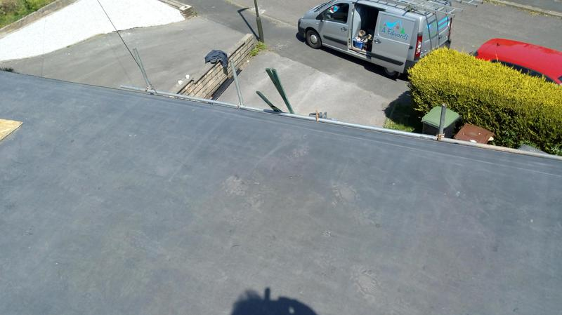 Image 1 - A EPDM rubber flat roof,it is installed in one singular piece,so no joins,no way for water to get in.leak free with a 20 year warranty