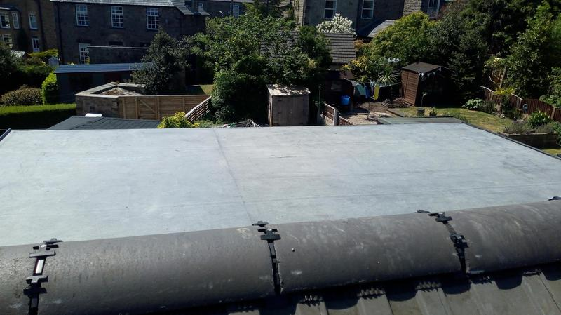 Image 2 - Maintenance free dry ridge system installed.no need to ever maintain the ridge tiles as they are secured mechanically