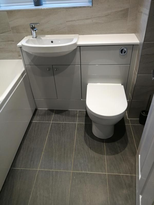 Image 41 - Bathroom we completed in Billericay before lockdown.