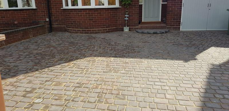 Image 190 - Follow up pictures of the driveway we completed in the Aldridge area.
