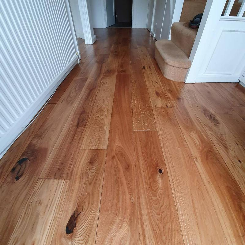 Image 34 - Sanded and oiled engineered flooring