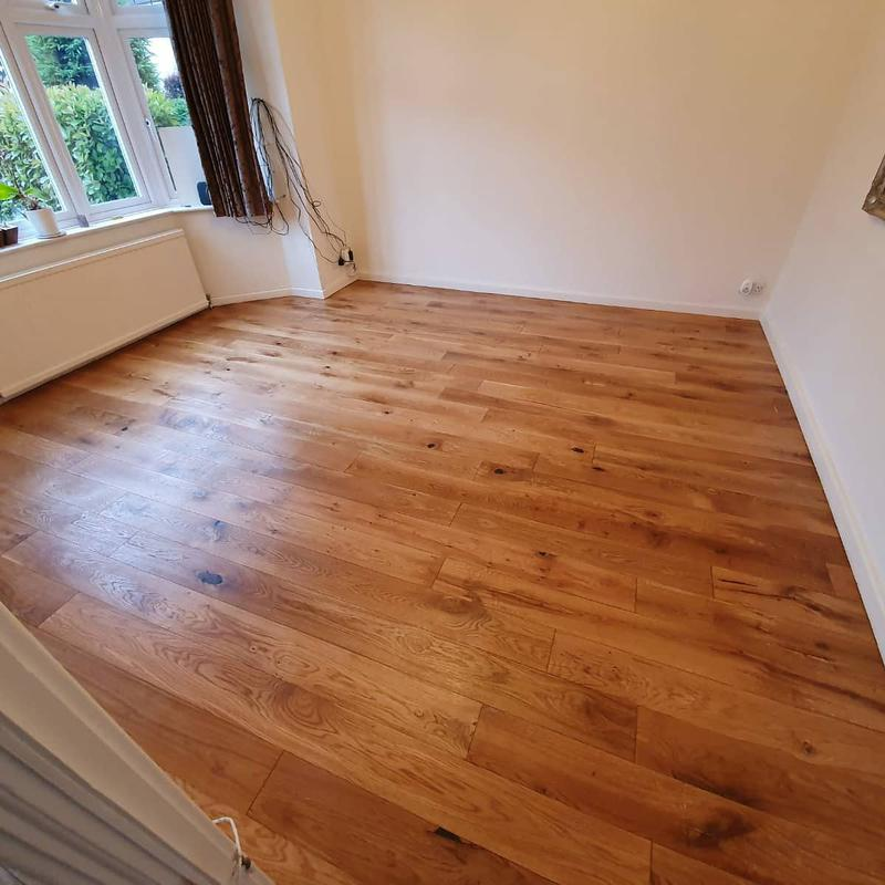 Image 32 - Sanded and oiled engineered flooring