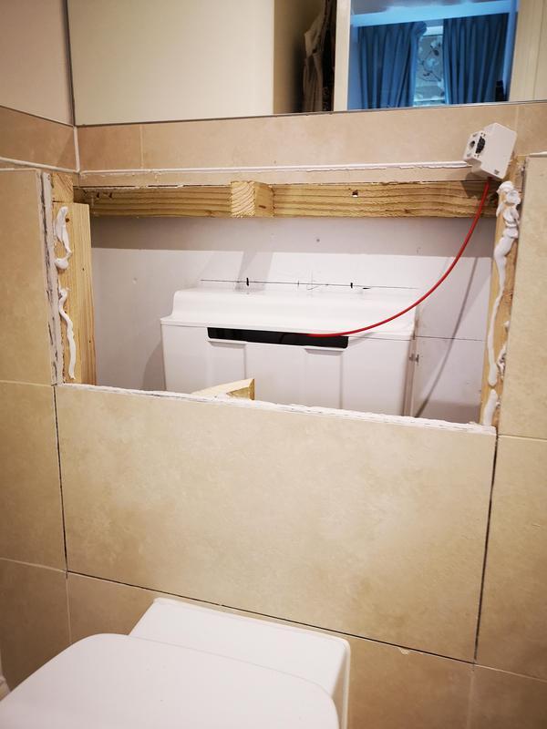 Image 12 - working alongside plumber in Epsom BEFORE