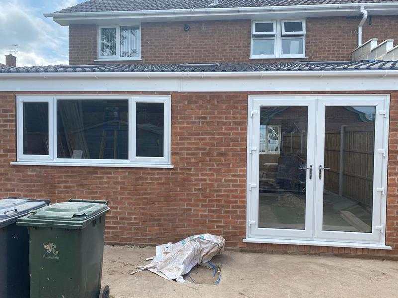 Image 35 - White A rated French doors and window installed on Forest Close Cotgrave.