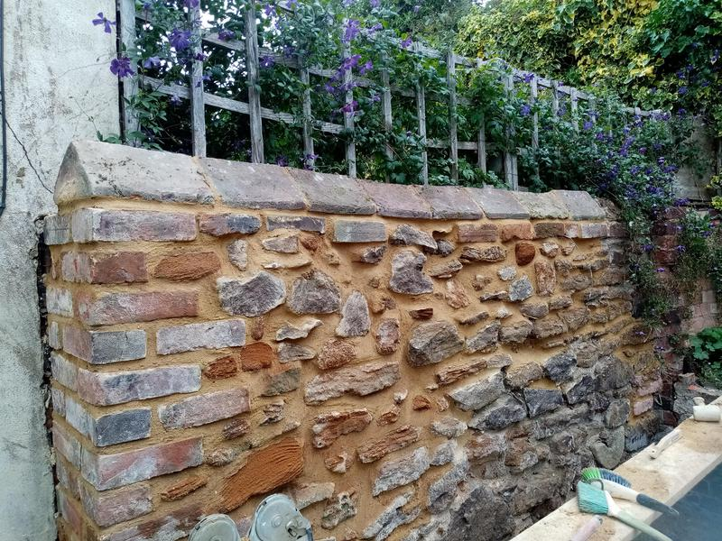 Image 4 - Rebuild old stone walling in lime based mortar