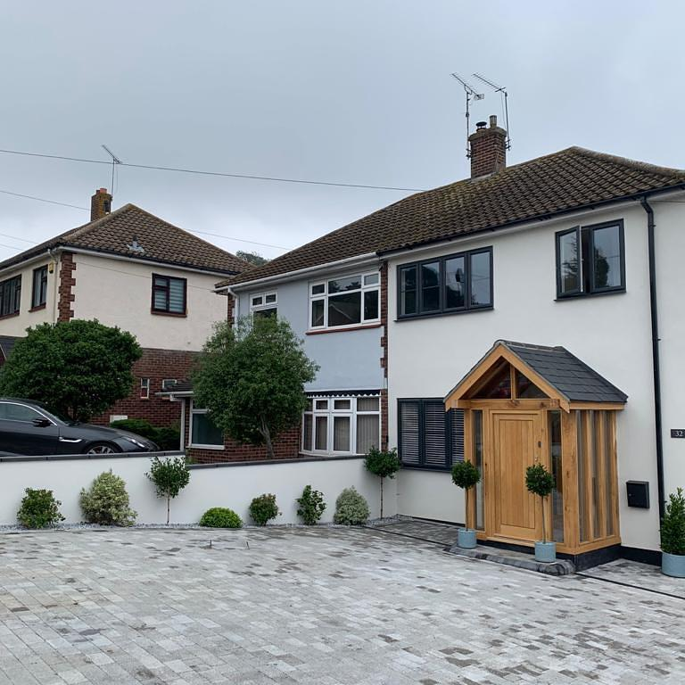Image 6 - Silicone render in benfleet in the colour wh77