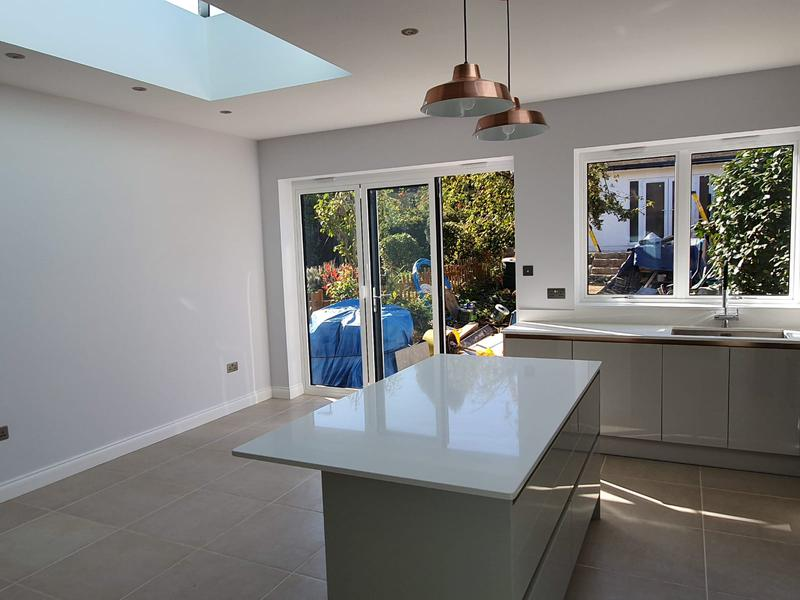 Image 4 - Rewiring, plastering, decoration, tiling, kitchen installation