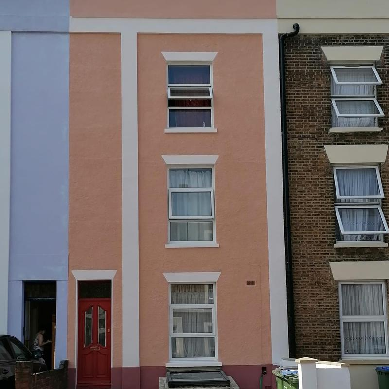 Image 1 - Project completed in South East London using dulux Weathershield system and toupret exterior filler